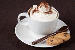 Cup Cappuccino Stockfotografie
