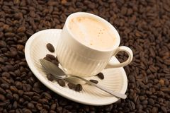 Cup of cappuccino Royalty Free Stock Photo