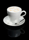 Cup of cappuccino. Coffee Royalty Free Stock Photo