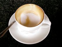 Cup of cappuccino coffee Royalty Free Stock Photos
