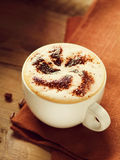 Cup of Cappuccino Royalty Free Stock Photos