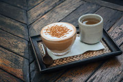 Cup of cappuccino Royalty Free Stock Photography