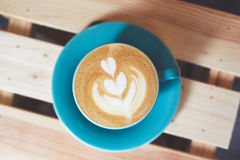 Cup of cappuccino coffee Royalty Free Stock Photography