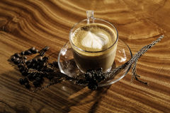 A cup of cappuccino Royalty Free Stock Image
