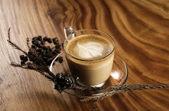 A cup of cappuccino Stock Image