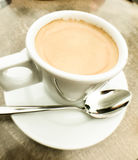 Cup of cappuccino Stock Image