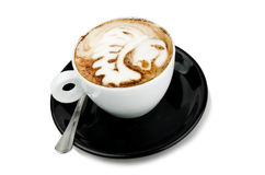 Cup of cappuccino indian Royalty Free Stock Images