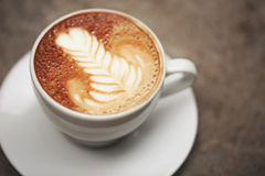 Cup of cappuccino. Royalty Free Stock Image