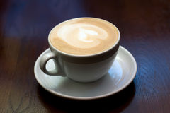 The cup of cappuccino Stock Photography