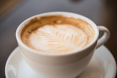 A cup of cappuccino Royalty Free Stock Photo