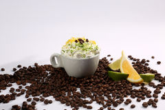 A cup of cappuccino Royalty Free Stock Images