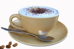 Cup of cappuchino Royalty Free Stock Photos