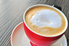 Cup cappucino Stockfotografie