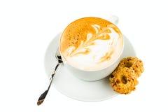 Cup cappucino Stockfoto
