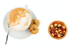 Cup of cappucino royalty free stock photos