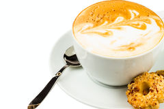 Cup of cappucino Royalty Free Stock Photography