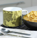 Cup with cereals. Cup of breakfast with cereals Royalty Free Stock Photography