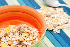 Cup of cereals Royalty Free Stock Photo