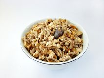 Cup of cereals Stock Photo