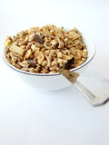 Cup of cereals Stock Image