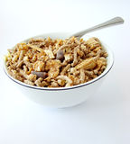 Cup of cereals Stock Images