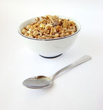 Cup of cereals Royalty Free Stock Photography