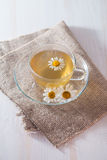 Cup of chamomile tea Royalty Free Stock Photography