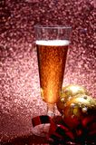 A cup of champagne for celebration day Royalty Free Stock Photography