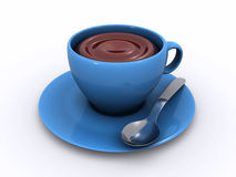 Cup of chocolate Stock Image