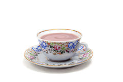 Cup with chocolate stock images