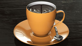 Cup of chocolate Stock Photography