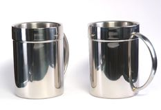 Cup chrome Stock Photography