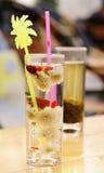 A cup of chrysanthemum tea Stock Image