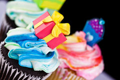 Cup Cke decoration Stock Image