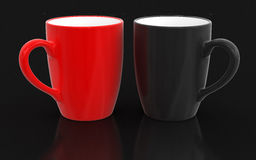 Cup (clipping path included) Stock Photos