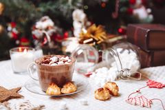 Cup of cocoa Stock Image