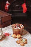 Cup of cocoa Royalty Free Stock Images