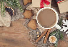 Cup of cocoa Royalty Free Stock Photos