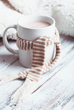 Cup of cocoa Stock Photos