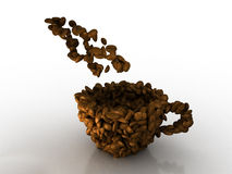 Cup of cofee Stock Photos