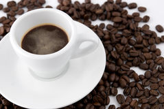 Cup of cofee Royalty Free Stock Image