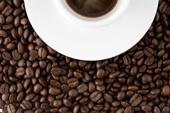 Cup of cofee Royalty Free Stock Images