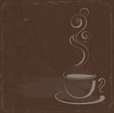 Cup of coffe Royalty Free Stock Photos