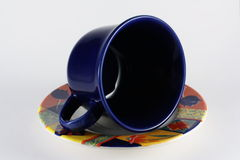 Cup on coffe Royalty Free Stock Photos