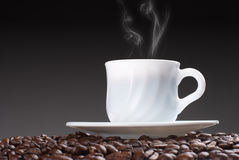 Cup of coffe royalty free stock photography