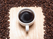 A cup of coffe Royalty Free Stock Images