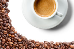 A cup of coffe Stock Photography