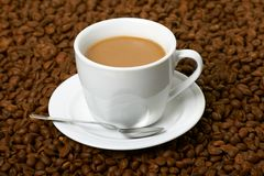 Cup with coffee Royalty Free Stock Image