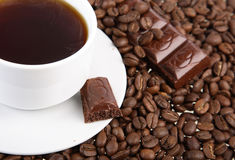 Cup with coffee Stock Photos