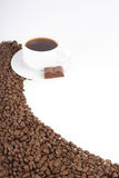 Cup with coffee Royalty Free Stock Photography